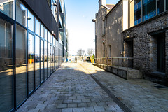 CROFTON ROAD AND THE NEW HARBOUR SQUARE COMPLEX [DUN LAOGHAIRE]-159989