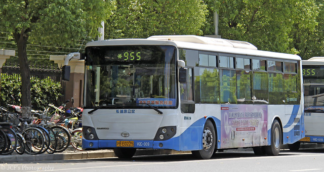 W2C-009 (Hu.BE0225), Route 955 - Shanghai