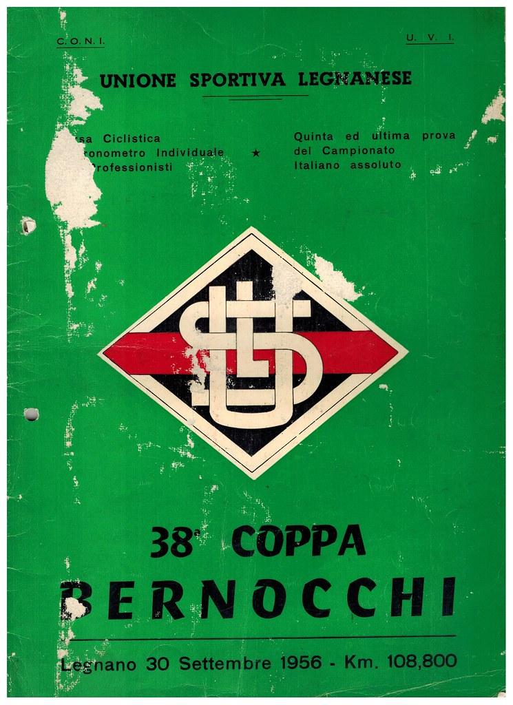 38° Coppa Bernocchi 1956
