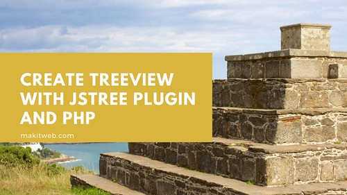 Create Treeview with jsTree plugin and PHP