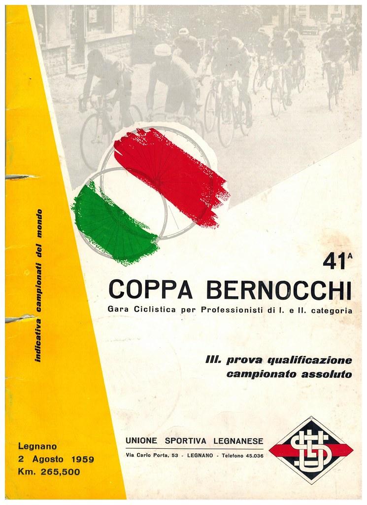 41° Coppa Bernocchi 1959