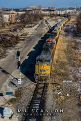 UP 9077 | EMD SD70ACe | CN Memphis Subdivision