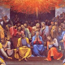 حلول الروح القدس على المُجتمعين في عُليٌة صهيون
