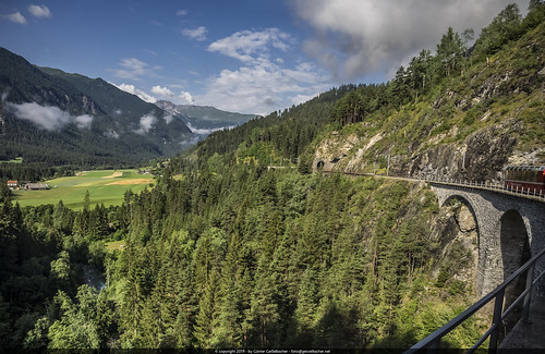 by train through Switzerland
