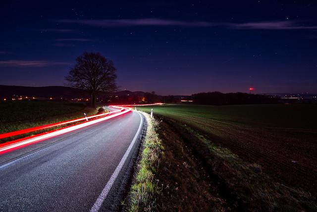 Street under Stars