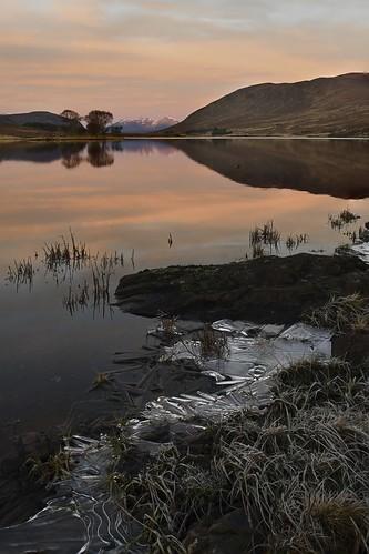 Dawn at Loch Droma