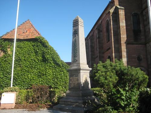 Monument à les victimes des guerres - Rue de l'Église - Dambach