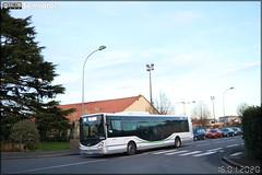 Irisbus Citélis 12 – Voyages Lefort / TAN (Transports en commun de l'Agglomération Nantaise) n°3014 ex Autocars Delcourt (Tusa, Transports Urbains Saint-Lô Agglo) et Disneyland Paris n°30