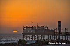 DSC05711 L4 Namibia / Jetty, Sunset