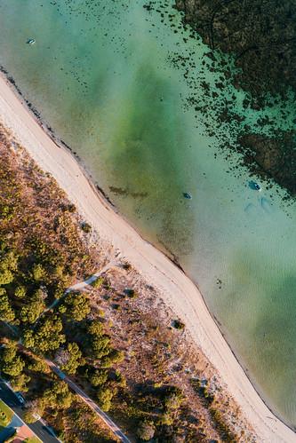 White sand shores of Dunn Bay - Dunsborough, Western Australia