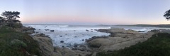 panorama/Scenic Drive/Snow moon in the distance