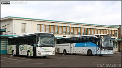 Iveco Bus Crossway – Mobilités Bourgogne-Franche-Comté / Mobigo & Mercedes-Benz Tourismo – Autocars Planche (Keolis) / Auvergne-Rhône-Alpes n°584