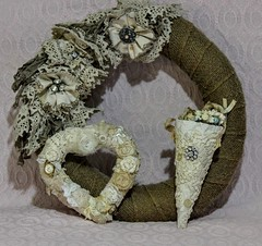 Lace, Crochet, Rhinestones