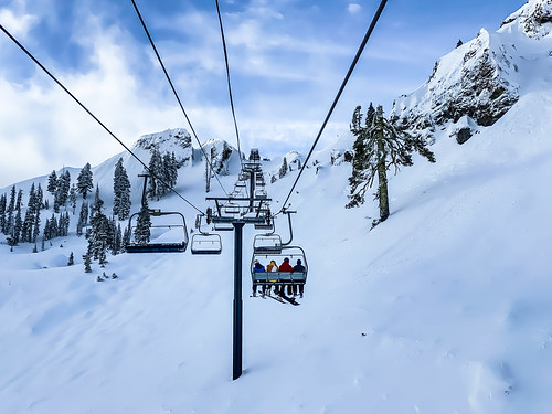First Chair on KT-22, Squaw Valley