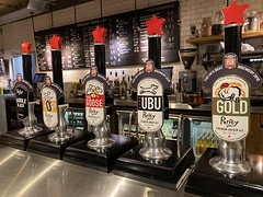 Purity Brewery Hand pumps