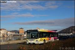 Iveco Bus Urbanway 12 – Vienne Mobilités (RATP Dev) / L'va (Lignes de Vienne Agglomération) n°86