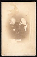 Portrait of Sir David Brewster and William Henry Fox Talbot