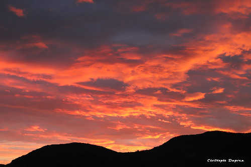 Quand le ciel est en feu... / When sky is burning...