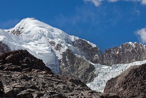 Illampu Mountain and Glacier