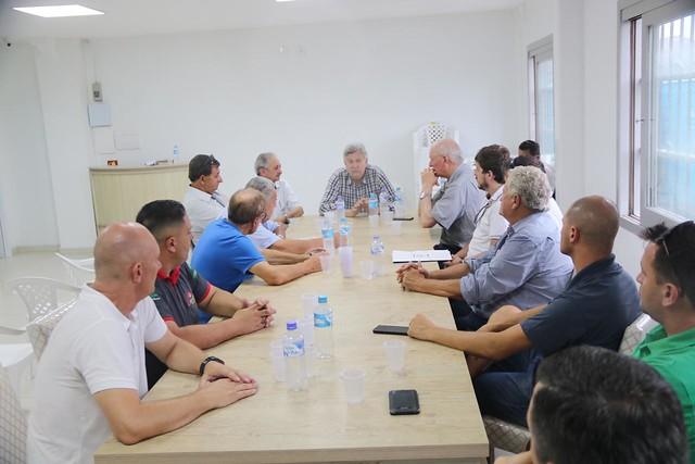 08/02/2020 Reunião e visita terrenos em Arroio do Sal - Pauta - Construção Porto do Litoral Norte