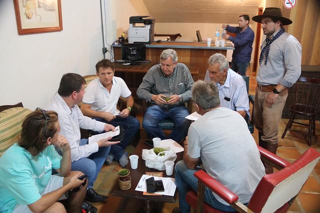 07/02/2020 Reunião com os produtores de maçã de Vacaria e região