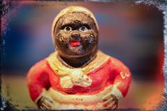 Old Painted Figurine