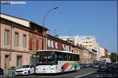Mercedes-Benz Integro – RDT 31 (Régie départementale de Transport de la Haute-Garonne) / Arc-en-Ciel n°6209
