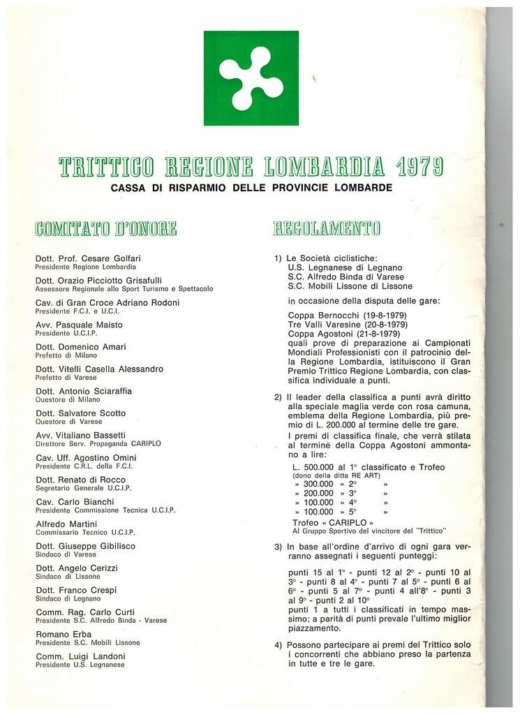 Presentazione Trittico regione Lombardia 1979 - 5
