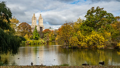 Central Park in autumn (New-York)