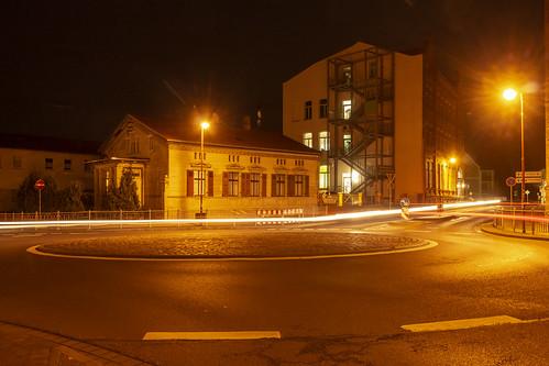Burg, Kreisverkehr Magdeburger Straße