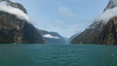 dans le Fjord de Milford Sounds