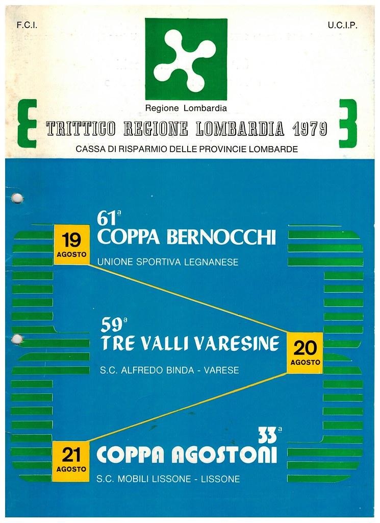 Presentazione Trittico regione Lombardia 1979