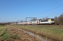 NMBS 7 + CFL+SNCF+ NS in Belgie