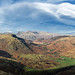 From Wetherlam looking over to Great Langdale  07/02/20