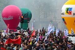 Manifestation contre le projet de réforme des retraites. Paris. 24 septembre 2019
