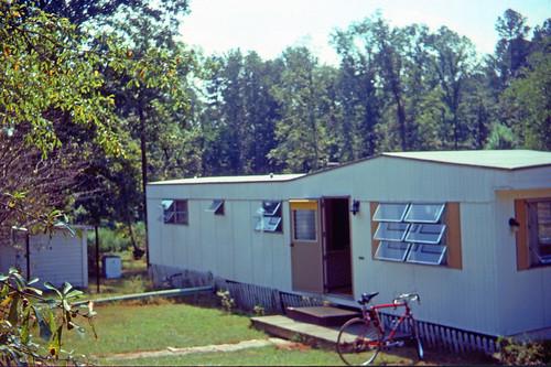 Edds trailer in Alabama 1982