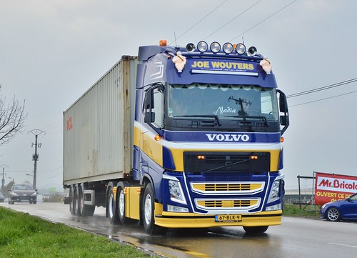 Nl-Joe Wouters Transport >Oocl< Volvo FH4 500 6x2