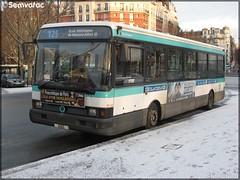 Renault R 312 – RATP (Régie Autonome des Transports Parisiens) / STIF (Syndicat des Transports d'Île-de-France) n°6602