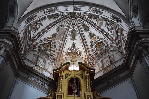 Bóveda de la cabecera de la iglesia de la Purificación y San Blas (Puertomingalvo)