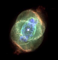 Cat's Eye Nebula (NGC 6543), IR+VIS+UV+XRay