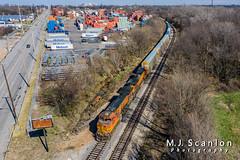 BNSF 4576 | GE C44-9W | CN Y&MV Main