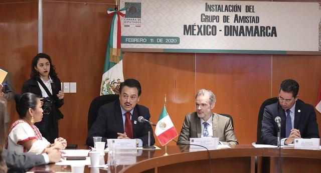 11/02/2020 Instalación Grupo de Amistad México-Dinamarca