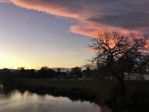 Sunset, Saturday 13 July 2019