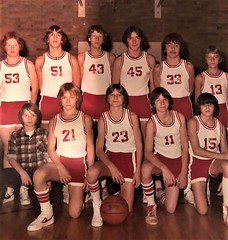 Northridge Class of 86 ...8th grade team