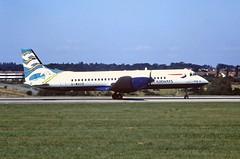 G-MAUD Bae ATP British airways (Blue Poole) Luton 14-08-1997