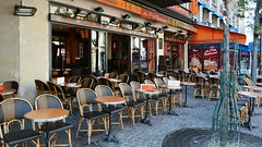Paris Café Scene III