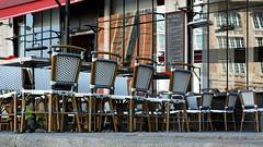 Paris Café Scene IV
