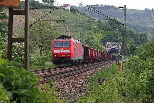 DB Schenker 185 134-4 Schrottzug, Istein