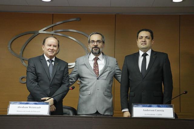 11/02/2020 - Solenidade de Posse- Presidente Benedito Aguiar Neto. (Fotos: Haydée Vieira- SSC/CAPES))