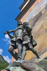 Wilhelm Tell statue in Altdorf